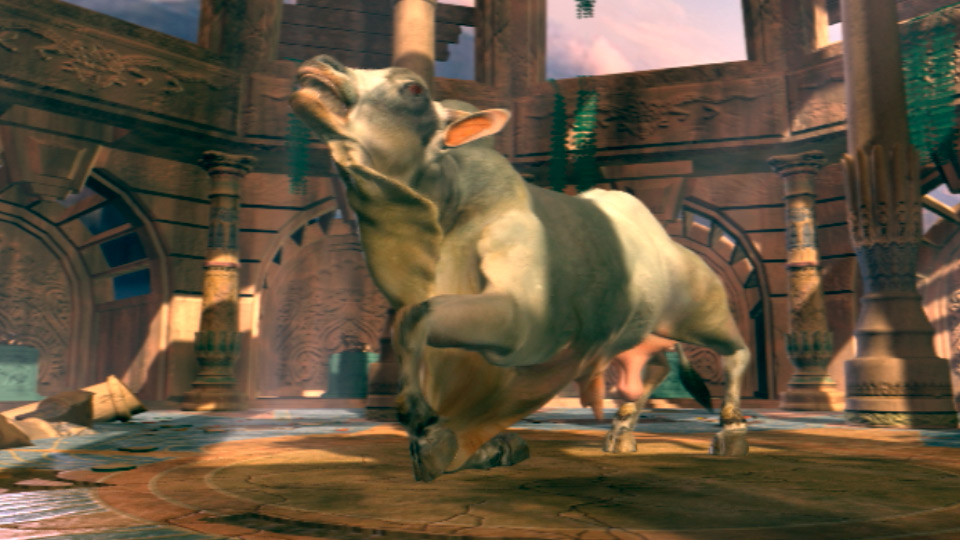 Mystical Nandi Bull Character Animation