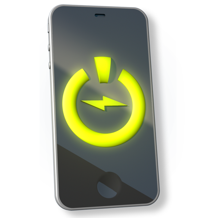PlanetEcosystems Iconography Cell Phone Icon