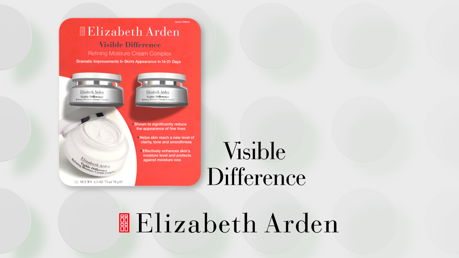 Elizabeth Arden Visible Difference Commercial Video