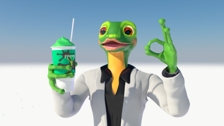 7-Eleven Frawg Character Animation Video