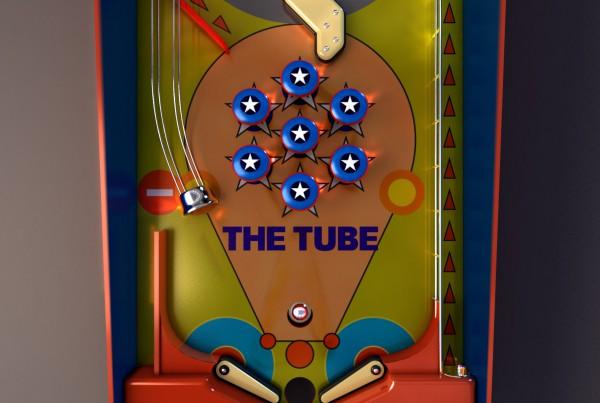The Tube Music Network Pinball Animated Video
