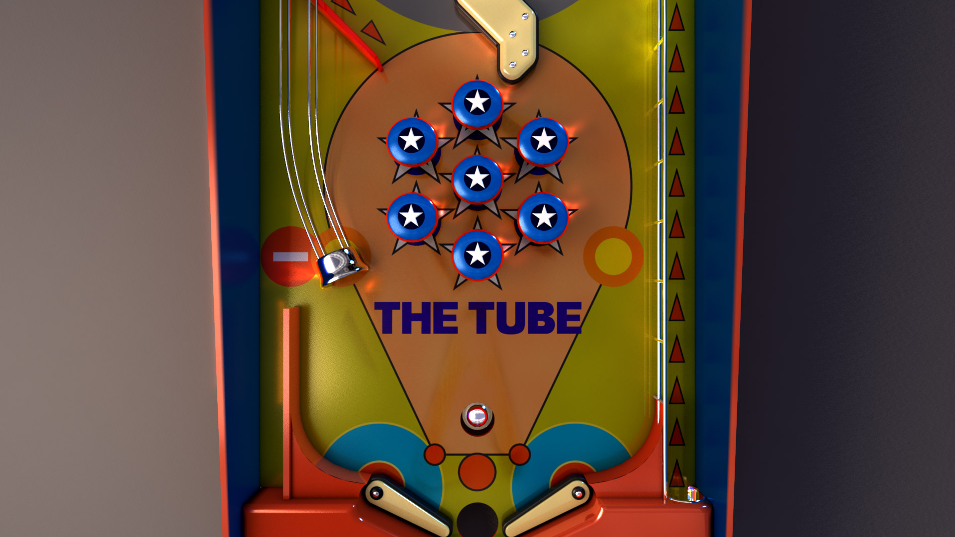 The Tube Music Network Pinball Animated Video