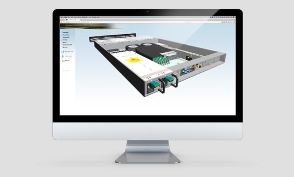 Symantec Backup Exec 3600 WebGL Microsite Design