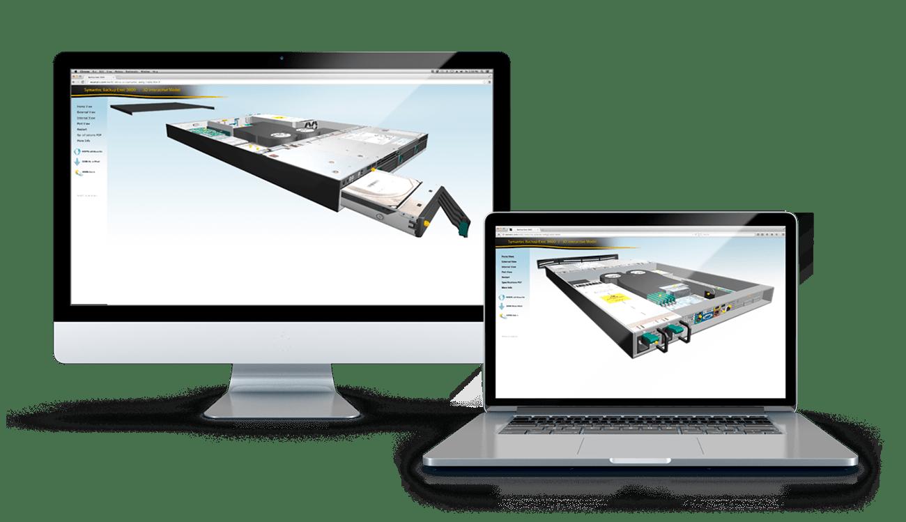 Symantec WebGL App
