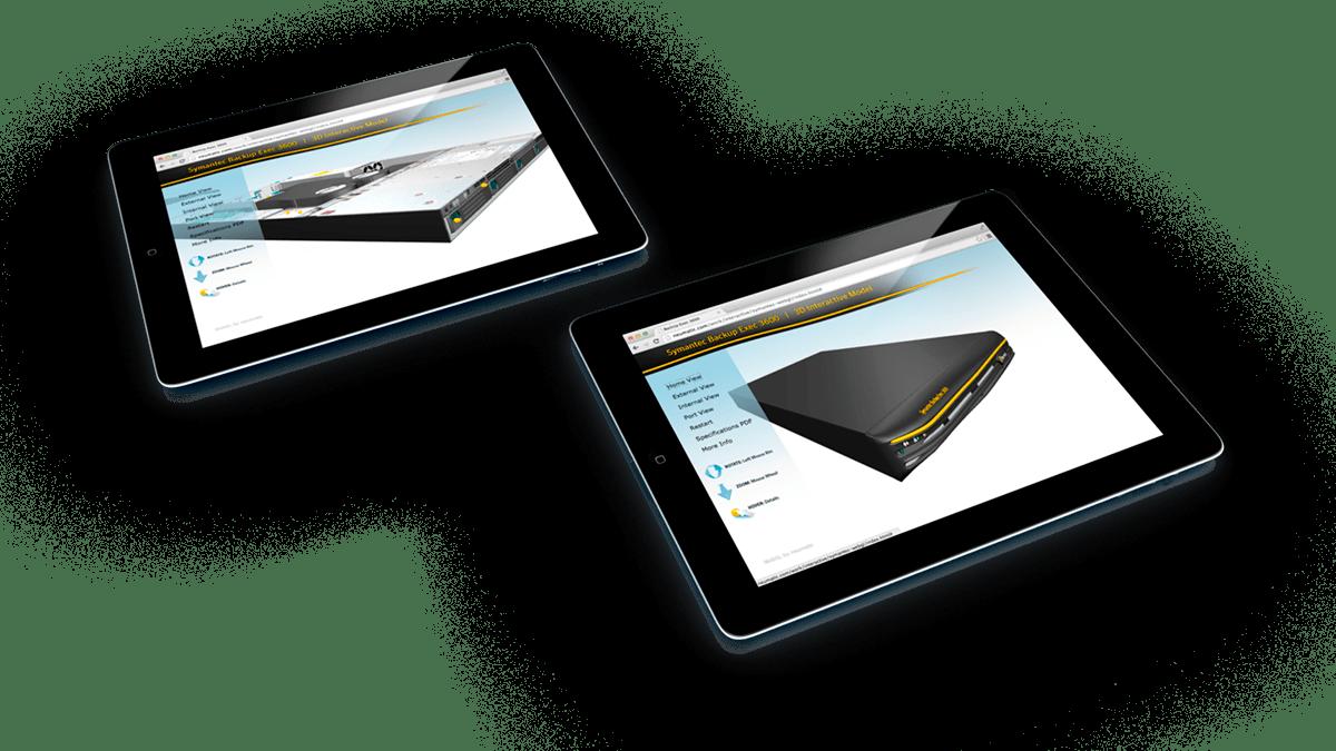 Symantec WegGL App Mobile Tablets
