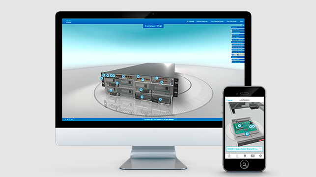 Cisco WebGL Interactive App Featured Image