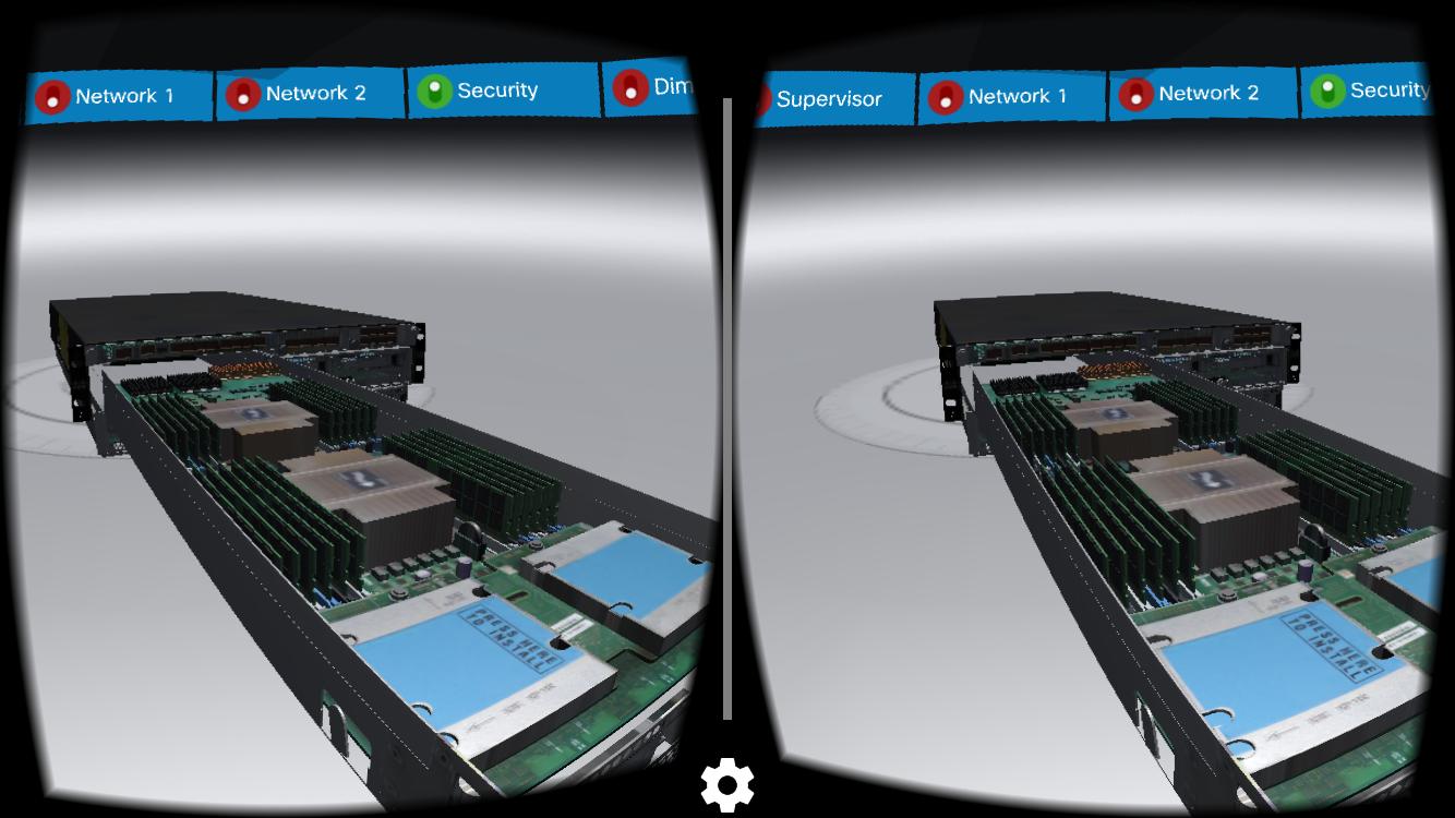 cisco virtual reality app