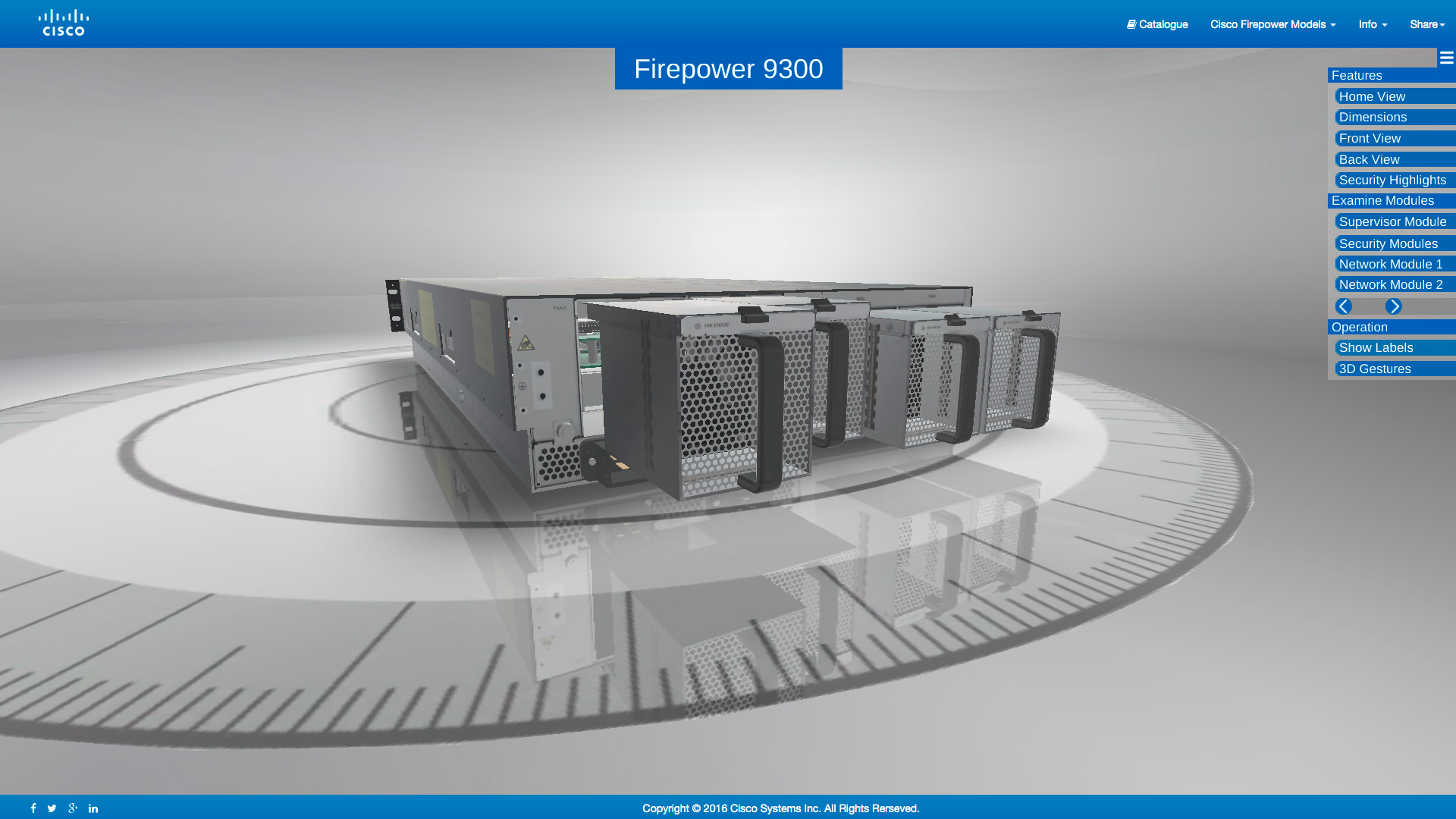 Cisco Interactive 3D Product Experience