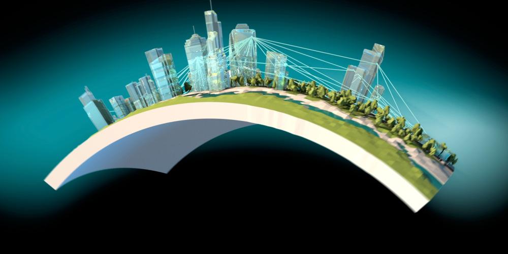 Cisco POV Product Video Globe Bending