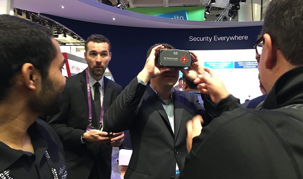 Cisco Cardboard VR Viewer