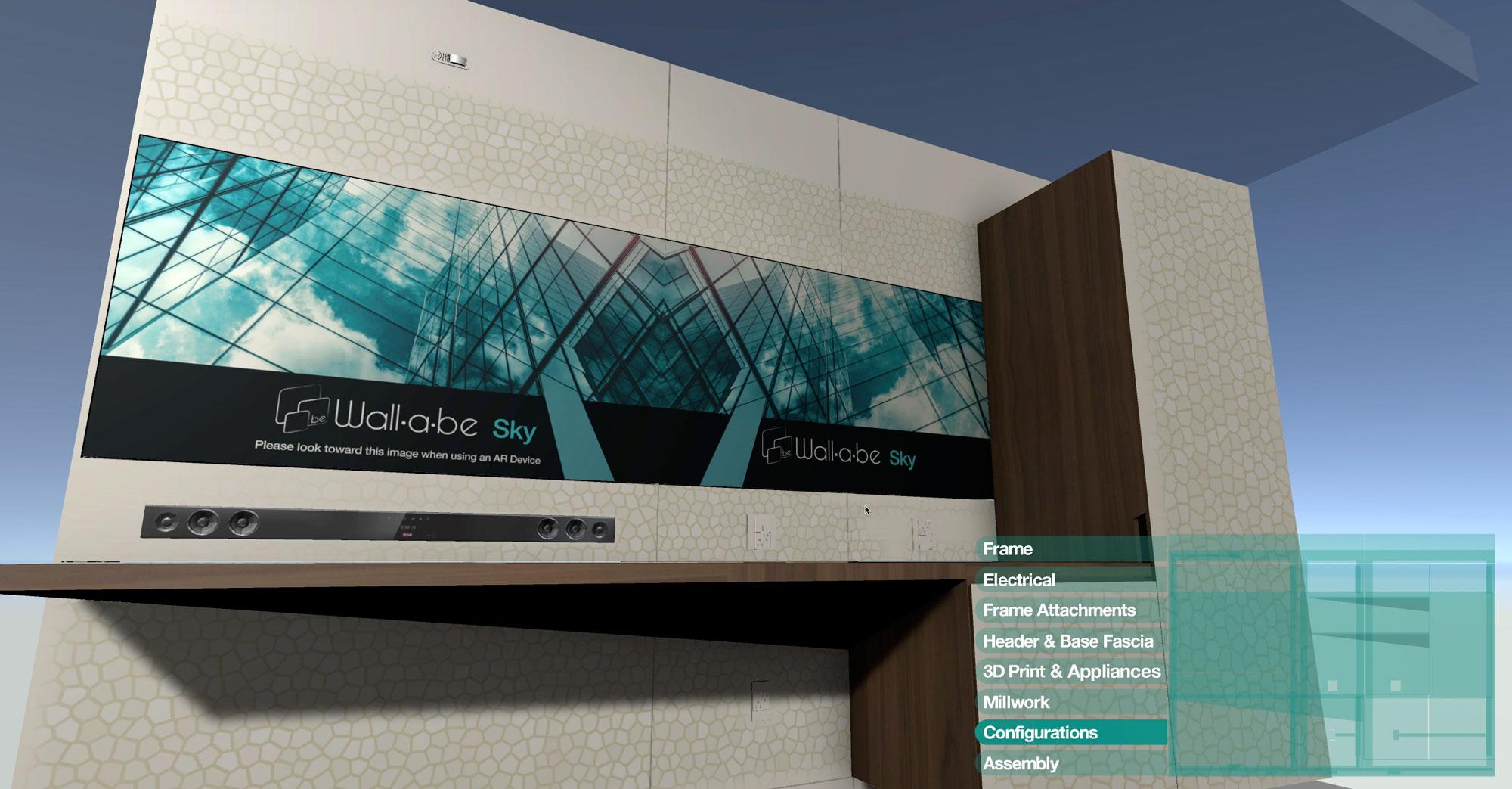Wallabe Interactive 3D Web App