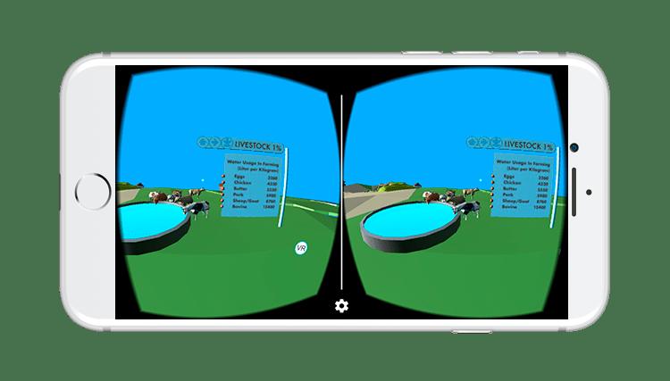 WaterUse VR Livestock View