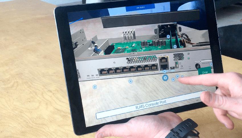 Cisco AR Mobile App