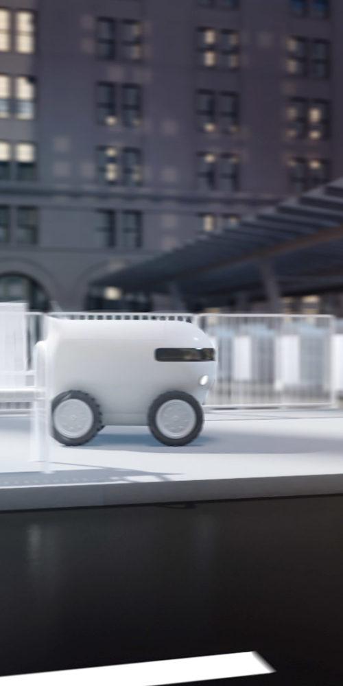 RavenOps Product Video Robot Landscape