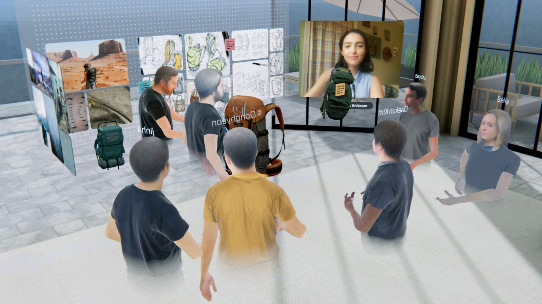 Virtual Spatial Collaboration and the Future of Work